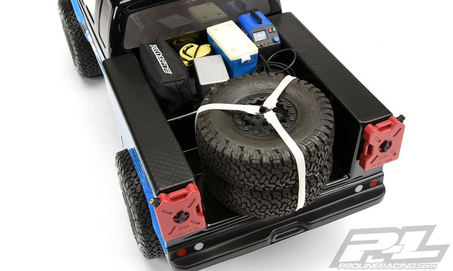 Pro-Line Utility Bed Clear Body For Honcho Style Crawler Cabs (4)