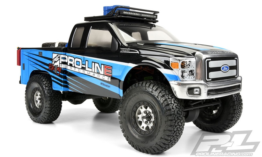 Pro-Line Utility Bed Clear Body For Honcho Style Crawler Cabs (6)