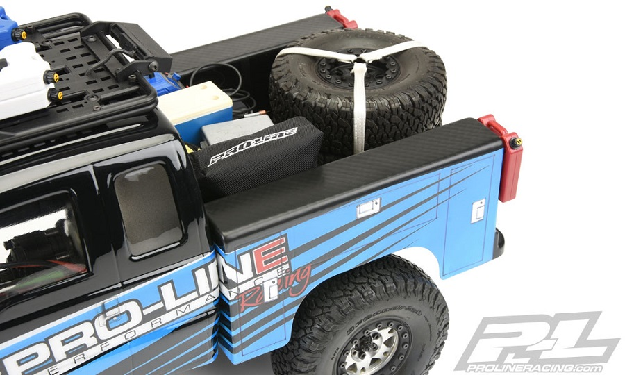 Pro-Line Utility Bed Clear Body For Honcho Style Crawler Cabs (7)
