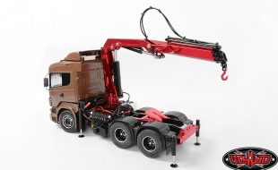 RC4WD 1/14 Truck Mounted Hydraulic Crane [VIDEO]