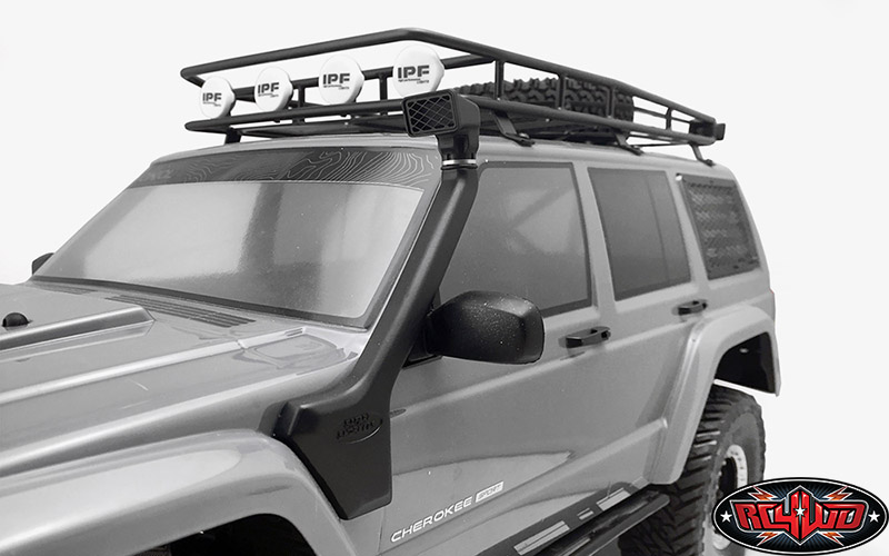 RC4WD Safari Snorkel For The Axial SCX10 XJ (3)