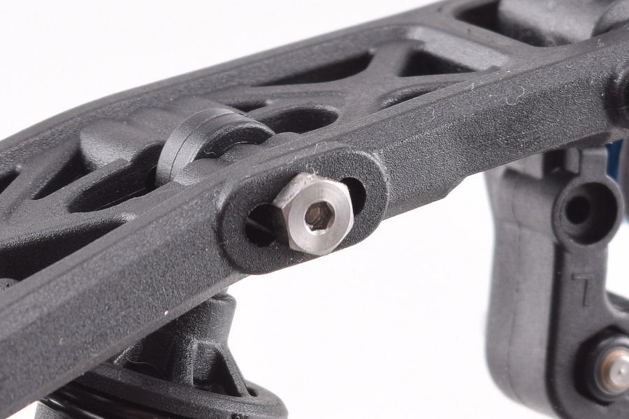 RDRP B6 Titanium Lower Shock Screw Set (4)