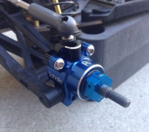 Schelle B6 Blue Aluminum Rear Hubs (2)