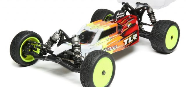 TLR 22 4.0 1/10 2WD Buggy Race Kit [VIDEO]