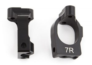 Team Associated B64 Aluminum Steering Rack & Caster Blocks (3)