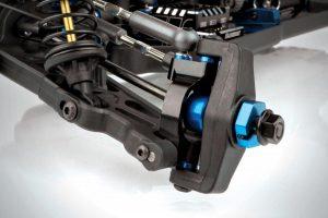 Team Associated B64 Aluminum Steering Rack & Caster Blocks (6)