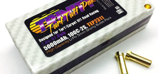 Trinity 5000mah Shorty LiPo Turf Pack