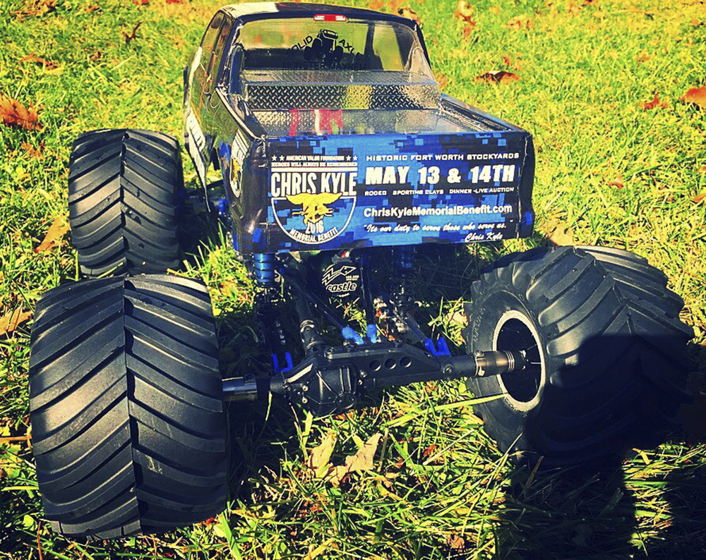 Thunder Tech Racing, Tamiya Clod Buster, Axial SCX10, Castle Creations, Robinson Racing, Boom Racing.