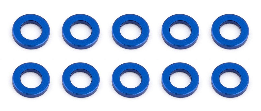 Associated Aluminum Ballstud & Bulkhead Washer Options (3)