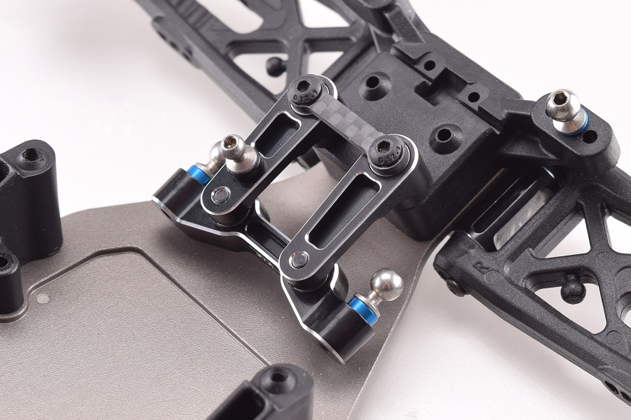 DRP B6 Aluminium Steering Rack And Bellcranks (12)