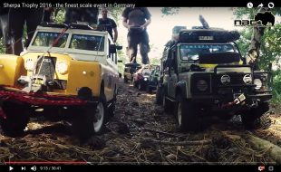 Great Scale Builds at Sherpa Trophy Event [VIDEO]