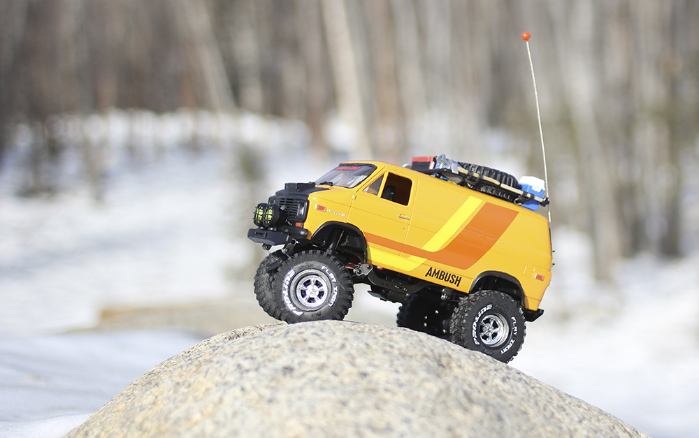 Pro-Line Ambush, Mini, Custom Van, Shorty Van,