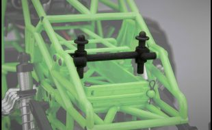 JConcepts Axial SMT10 Rear Body Mount