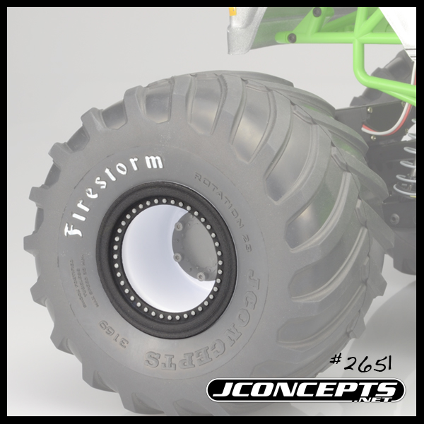 JConcepts Tru-Fit Beadlocks For Tribute Wheels (2)