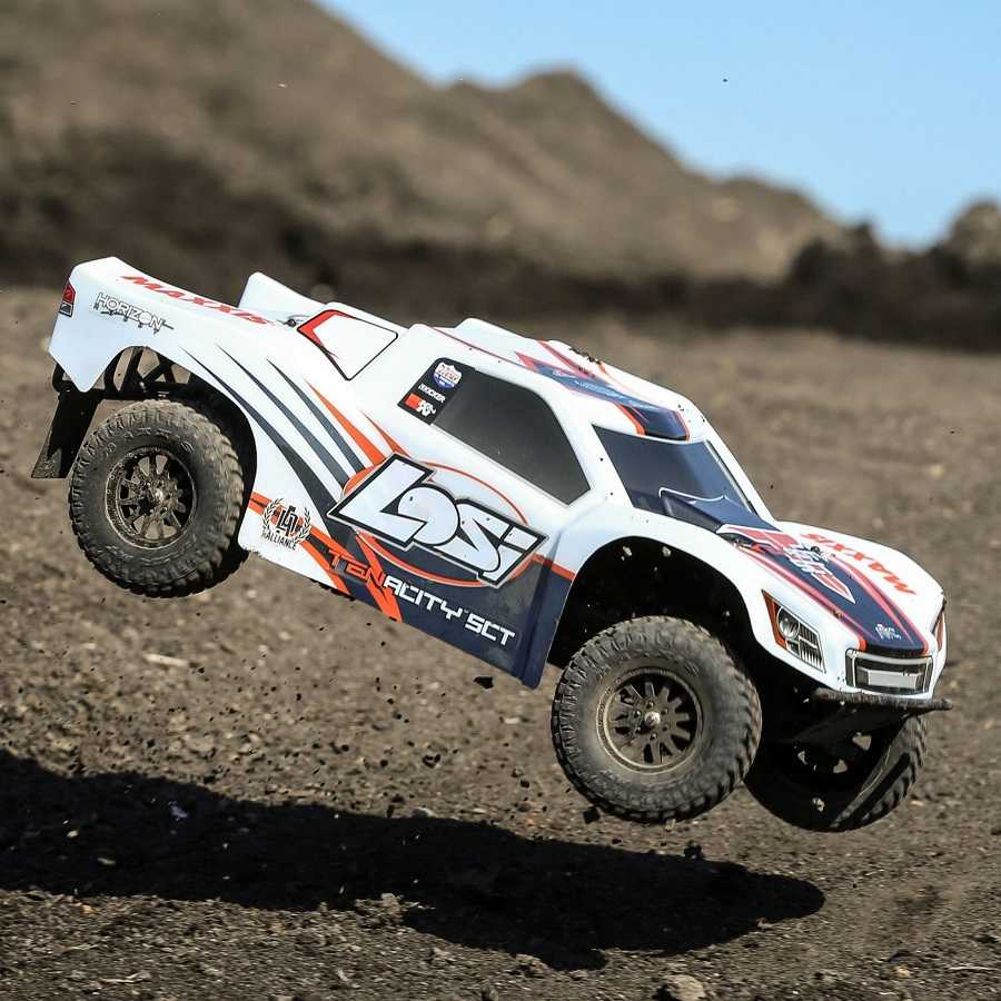 Losi RTR TENACITY 4wd SCT With DX2E Radio (1)