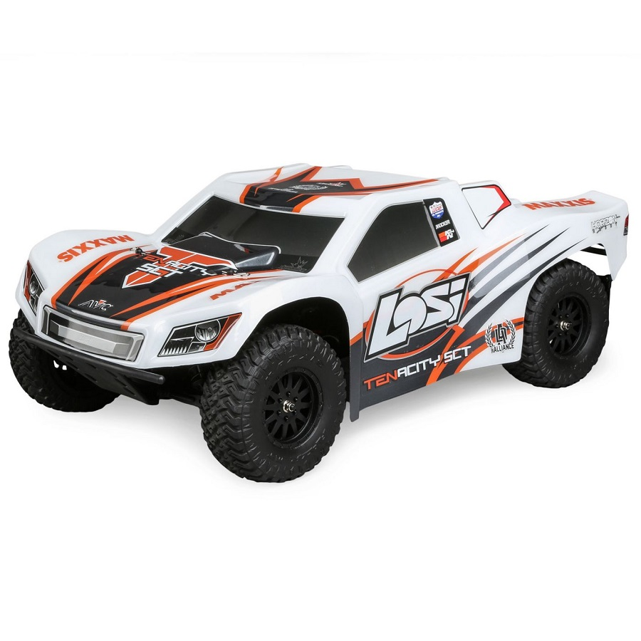 Losi RTR TENACITY 4wd SCT With DX2E Radio (7)