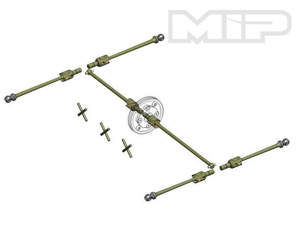 MIP B64 13.5 Gear Diff Performance Bundle Package
