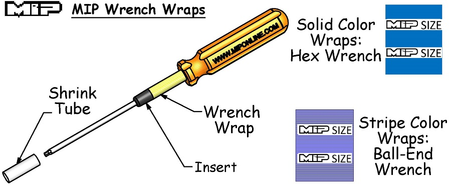 MIP Jimmy '3-Pack' Wrench Wraps (2)