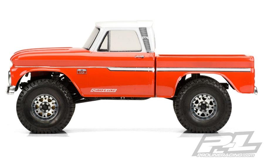 Pro-Line 1966 Chevrolet C-10 Clear Body (1)