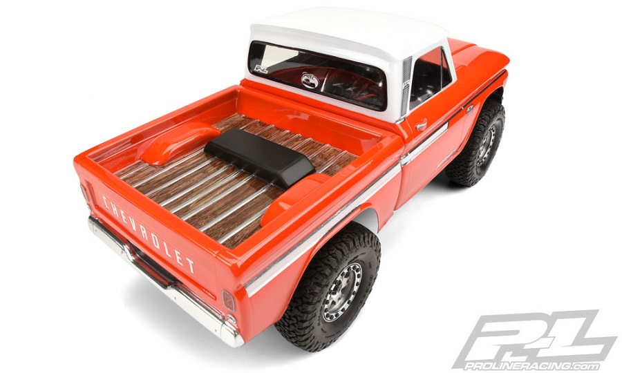 Pro-Line 1966 Chevrolet C-10 Clear Body (2)