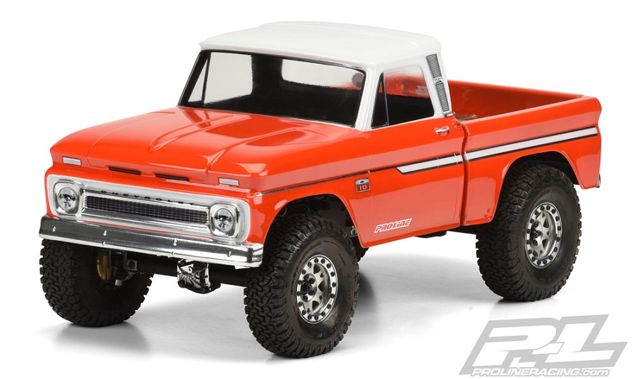 Pro-Line 1966 Chevrolet C-10 Clear Body (7)