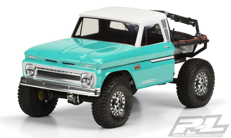 Pro-Line 1966 Chevrolet C-10 Clear Body (Cab Only) (1)
