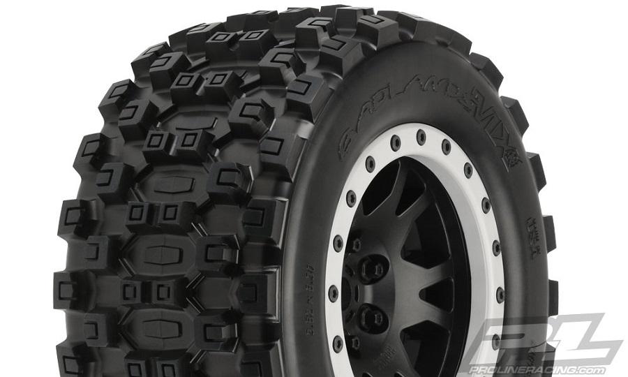 Pro-Line Badlands MX43 Pro-Loc All Terrain Tires (6)