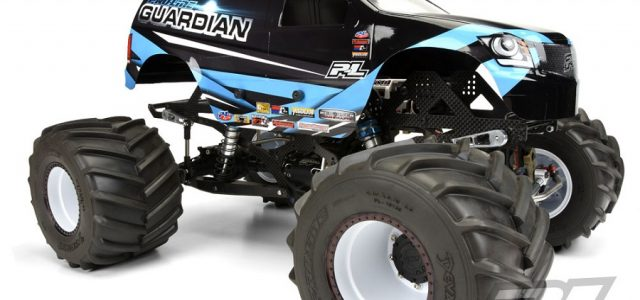 Pro-Line Guardian Clear Body For Solid Axle Monster Trucks