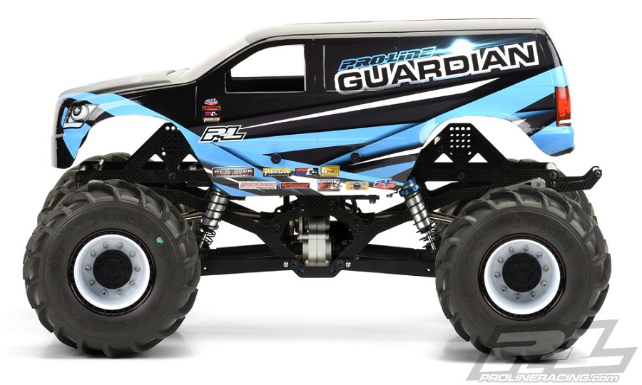 Pro-Line Guardian Clear Body For Solid Axle Monster Trucks (3)