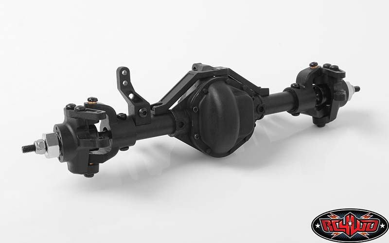 RC4WD D44 Plastic Complete Front Axle (2)