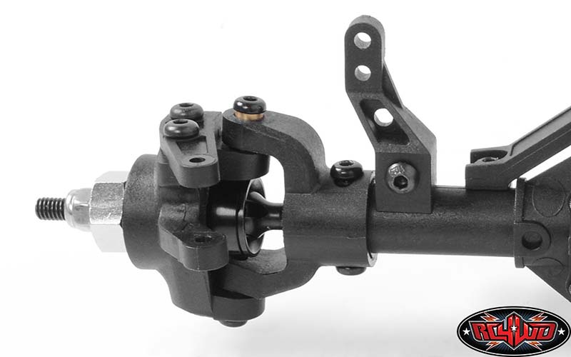 RC4WD D44 Plastic Complete Front Axle (4)
