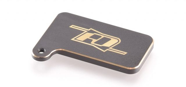 RDRP Brass Rear Motor Weight For The XRAY XB4