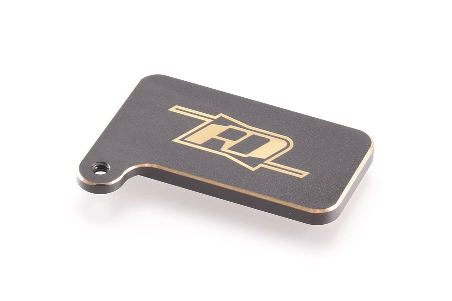 RDRP Brass Rear Motor Weight For the XRAY XB4 (1)