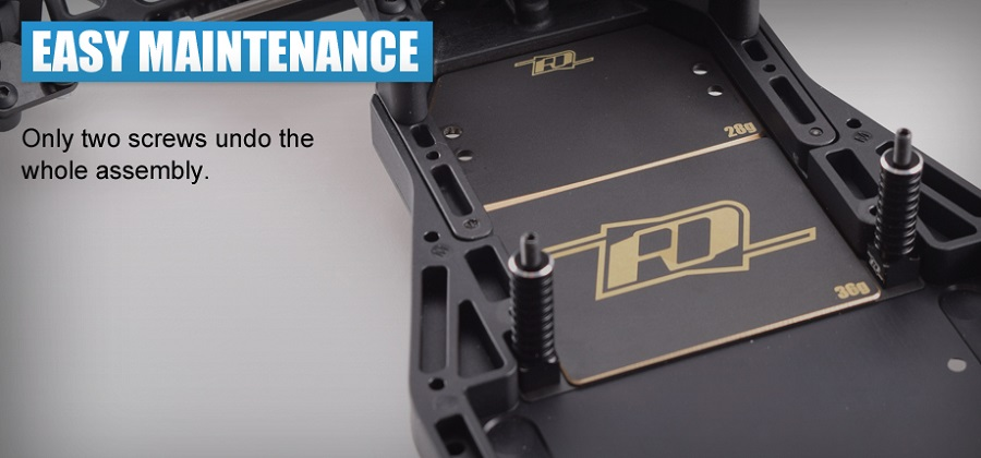RDRP XB2 Brass Chassis Weight (2)