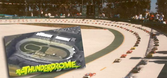 Flashback: RC Thunderdrome, The Ultimate Oval Race [VIDEO]