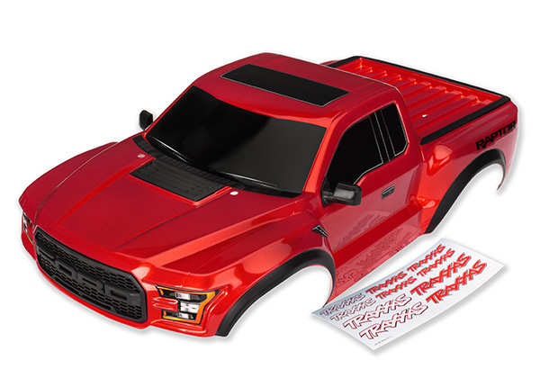 Traxxas 2017 Raptor Painted & Clear Bodies (1)
