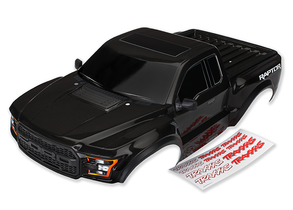Traxxas 2017 Raptor Painted & Clear Bodies (2)