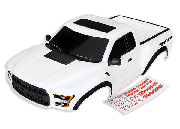 Traxxas 2017 Raptor Painted & Clear Bodies (3)