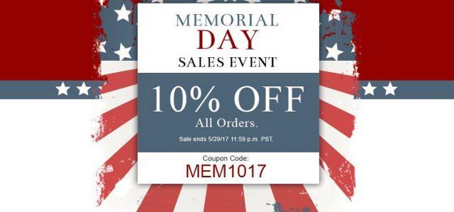 AMain's Memorial Day Sale