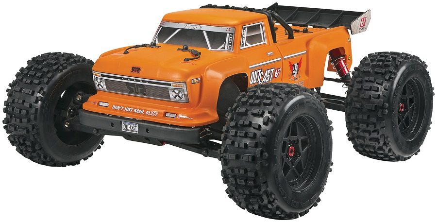 ARRMA RTR Outcast Truck Now Available With Orange Body (1)