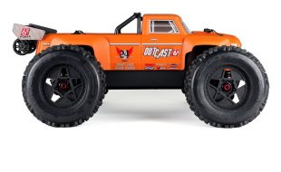 ARRMA RTR Outcast Truck Now Available With Orange Body