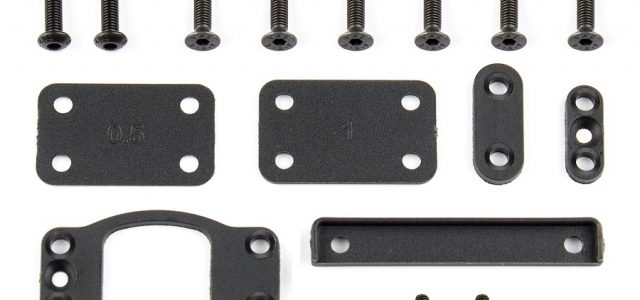 Team Associated B6 Transmission & Bulkhead Shim Set