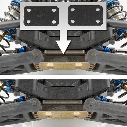 B6 Transmission & Bulkhead Shim Set (3)