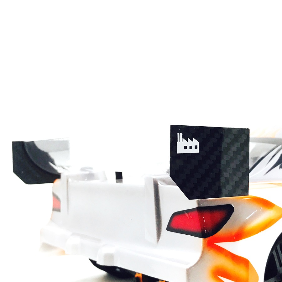 Black Fabrica 200mm Nitro Touring Car Wing End Plate v2 (3)