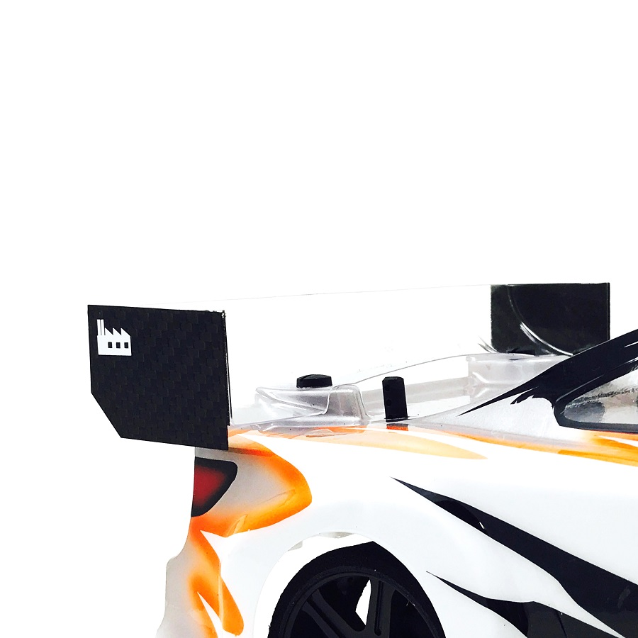 Black Fabrica 200mm Nitro Touring Car Wing End Plate v2 (4)