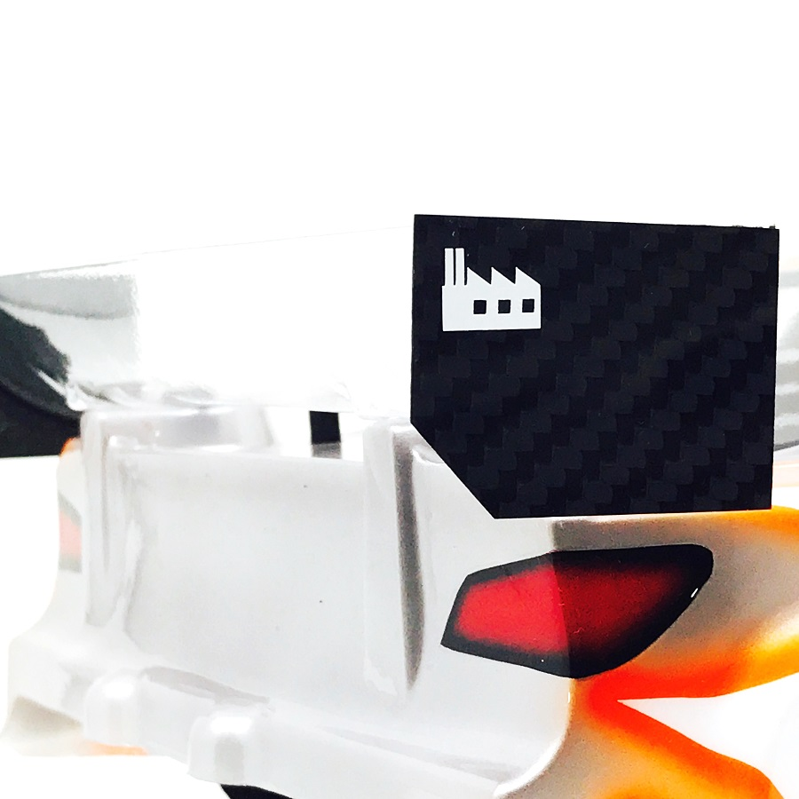 Black Fabrica 200mm Nitro Touring Car Wing End Plate v2 (5)