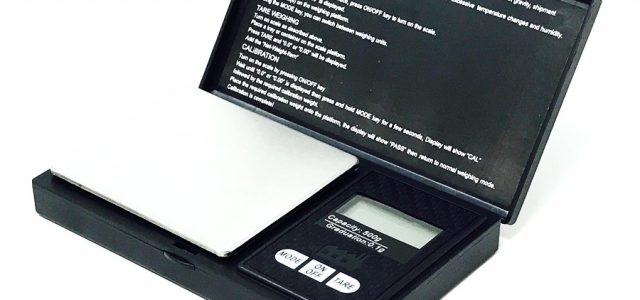 Black Fabrica Precision Weight 500g Scale