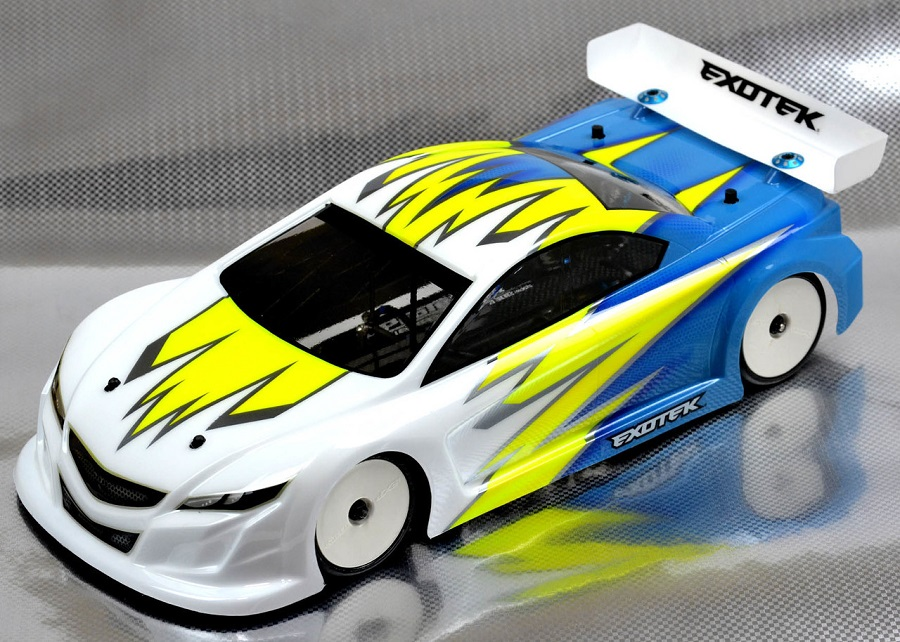Exotek Rx2 190mm Lcg Touring Car Body Rc Car Action