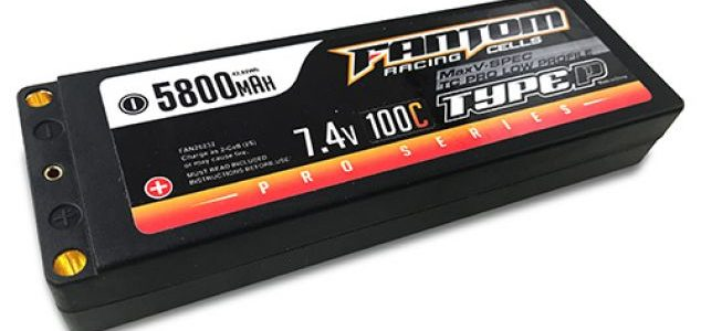 Fantom Touring Car Low Profile MaxV-SPEC Pro Racing LiPo