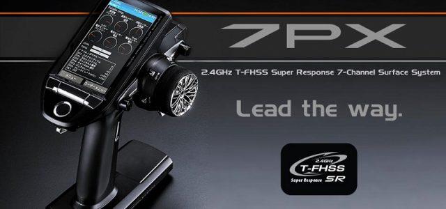 Futaba 7PX LCD Touch Screen 7-Ch 2.4GHz T-FHSS Radio